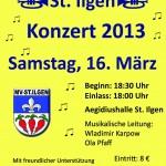 16. März – Jahreskonzert des MV St. Ilgen