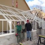 Es geht voran: Landgut Lingental erhält viktorianisches Gewächshaus