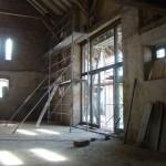 Landgut Lingental: Der Konferenzsaal beginnt Gesicht zu zeigen
