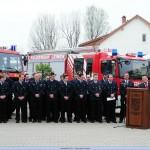 Technischer Frühschoppen bei der Feuerwehr und Fahrzeugübergabe des neuen HLF20