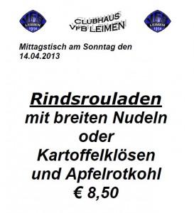 326 - Vfb Rouladen