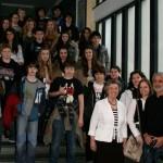 Französische Schüler zu Gast in Sandhausen