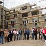 Baufinanz feierte Richtfest für neues Sandhäuser Pflegeheim