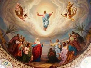 422 - Christi Himmelfahrt Fresco