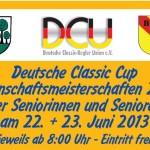 22./23. Juni – Deutsche Classic Cup Kegel-Mannschafts-Meisterschaften in Sandhausen