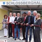 Gauangellocher Schlossberghalle mit großem Fest offiziell eingeweiht