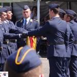 Rekruten des Bundeswehr Paten-Bataillons legten Feierliches Gelöbnis ab