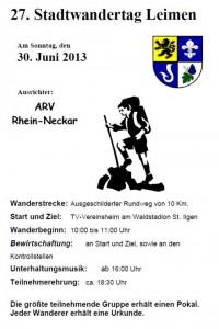 563 - Leimener Sporttag - Programm 2
