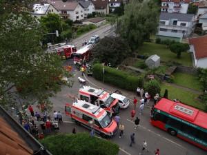 605 -Unfall Rohrbacherstrasse 1