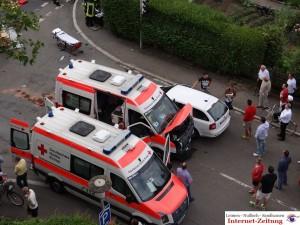 605 -Unfall Rohrbacherstrasse 2