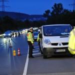 Polizei-Großkontrolle auf B3 und in Leimen- Ergebnis: 3x Alkohol – 2x Drogen
