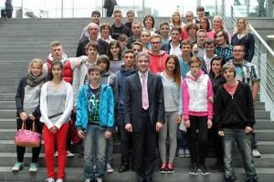 626 - Nusslocher Schüler in Berlin bei Dr Harbarth