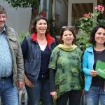 Interessante und gut besuchte Kräuterführung mit Dr. Edith Wolber in Nußloch