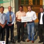 Syrisch-Orthodoxe Kirche Leimen spendet 1.500 € für Herz-Jesu Renovierung