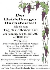660 - Dachsbuckel Plakat 480