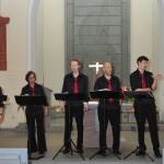 """Abwechselungsreiches Sommerkonzert in St. Aegidius mit Vokalensemble """"Cantetto"""""""