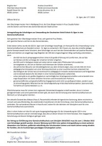 703 - Offener Brief GSS
