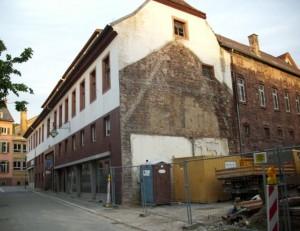 705 - Rathaus neu Baustelle