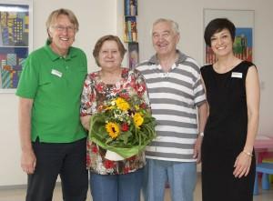 Herr und Frau Witt werden nach 45 Jahren verabschiedet