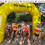 Rad-Touristikfahrt des MSC durch's Kraichgau: 180 Teilnehmer