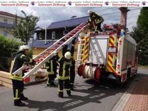 767 - Feuerwehr-Grilleinsatz 1