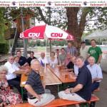 Sommerfest der CDU Leimen – Der Bundestags-Wahlkampf beginnt!