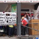 Gauangellocher trotzen dem Regen: Kerwe – Rede nimmt Lokalereignisse auf's Korn