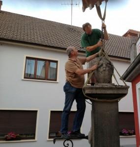 829 - Bärentorbrunnen Demontage