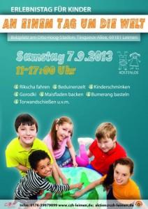 830 - CZH Kindertag Plakat