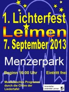 844 - Lichterfest Liedertafel