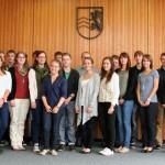 Qualifizierte Ausbildung für junge Menschen im Landratsamt