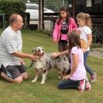 Leimener Ferienprogramm beim Verein der Hundefreunde Gauangelloch