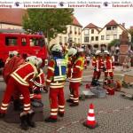 """""""Schwerer Unfall mit Tanklaster in Sandhausen Mitte"""" – Harte Hauptübung!"""