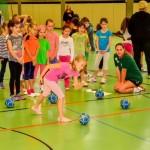 "Handball-Aktionstag in Leimen – ""Lauf dich frei, ich spiel dich an"""