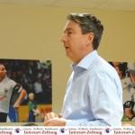 SVS Fantreffen: Präsident Machmeier stellt Stadionausbau vor