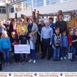 Herbstfest: GSS St. Ilgen freut sich über neues Klettergerüst im Schulhof