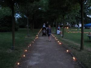 973 - Menzerpark Liedertafel Lichterfest 4