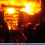 Heißausbildung im Brandübungs-Container