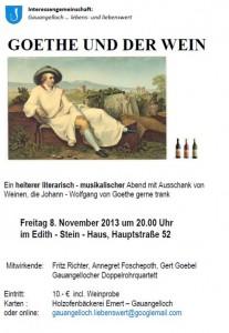 1035 - Goethe-Plakat