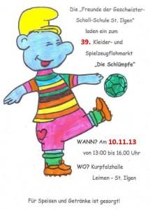 1125 - Flohmarkt Schlümpfe