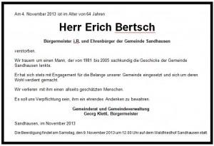 1133 - Traueranzeige Bertsch