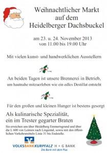 1141 - Dachsbuckel Weihnachtsmarkt