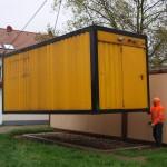 Neuer Container für die Leimener Tafel – Großzügige Spende ermöglicht Ausbau