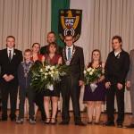 Königsfeier des Sportschützenverein St.Ilgen mit Proklamation der neuen Hoheiten.