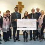 Schola Konzertbesucher spendeten 500 € für St. Laurentius-Glocke