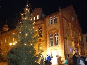 1936 - Diljemer Weihnachtsbaum Aufstellung 4