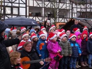 1947 - Weihnachtsmarkt Leimen 9 Musikschule Kinderchor