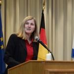 Oberbürgermeisterwahl in Leimen: </br>Claudia Felden hält Wort