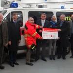 BdS spendete 1.000 € für die Anschaffung eines neuen DLRG-Rettungsbootes