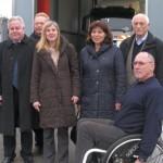 FDP Kreistags- Fraktion vor Ort bei der AVR in Dossenheim